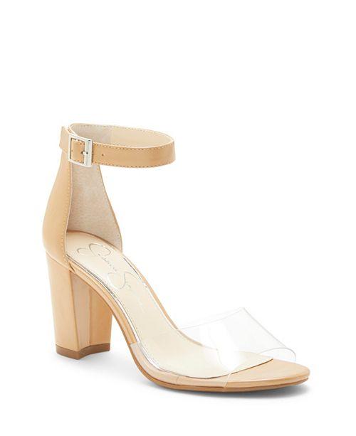 Jessica Simpson Sherron Block Heel Sandals