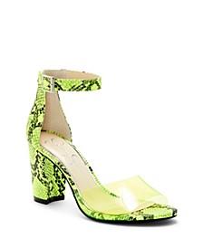 Sherron Block Heel Sandals