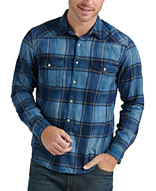 Men's Santa Fe Western Plaid Shirt