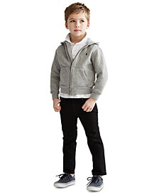 Toddler Boys Full Zip Hoodie