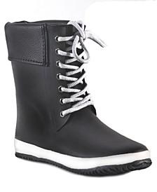 Coachella Cuff Waterproof Women's Mid-Height Rain Boot