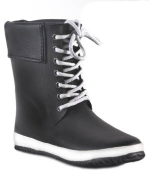 Coachella Cuff Waterproof Women's Mid-Height Rain Boot Women's Shoes