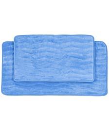 Home 2 Piece Memory Foam Bath Mat Set