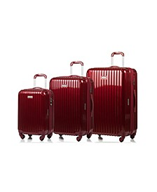 Rome Hardside 3-Pc. Luggage Set