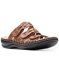 Clarks Collection Women's Leisa Faye Flat Sandals