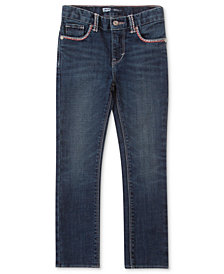 Levi's® 711 Thick Stitch Skinny Jean, Little Girls