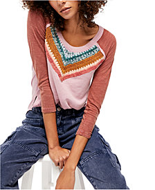 Free People Spring Bound Long-Sleeve Top