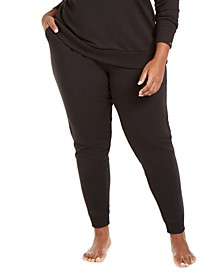 CK One Plus Size French Terry Jogger Lounge Pants