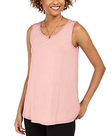 Style & Co Swing-Fit Tank Top, Created for Macy's