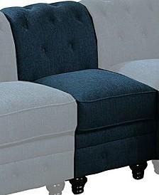 Gorgeous sofa chair, teal fabric