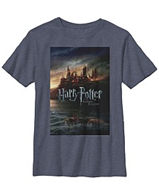 Harry Potter The Deathly Hallows Movie Poster Little and Big Boy Short Sleeve T-Shirt
