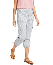 Cargo Capri Pants, In Regular and Petite, Created for Macy's