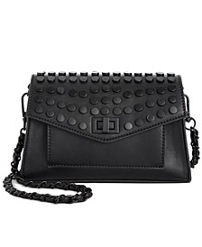 Aidan Battery Stud Flap Crossbody