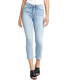 Calley Slim-Leg Cropped Jeans