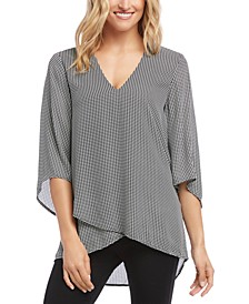 Bracelet-Sleeve Asymmetric Top