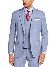 Men's Classic-Fit UltraFlex Stretch Textured Suit Jacket