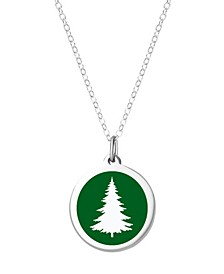 Pine Tree Necklace in Sterling Silver