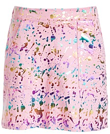 Big Girls Paint Splatter Skirt