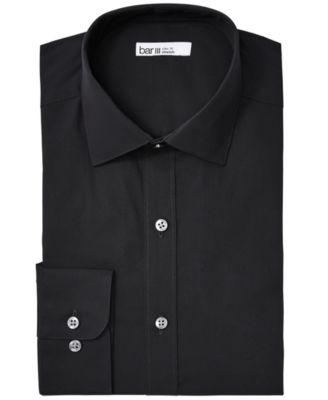Bar III Men/'s Wear-Me-Out Slim-Fit Stretch Large Dobby Dot Dress Shirt $65