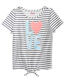 Big Girls Love Flip Sequin T-Shirt, Created For Macy's