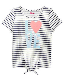 Epic Threads Big Girls Love Flip Sequin T-Shirt, Created For Macy's