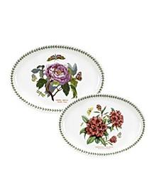 Botanic Garden Set/2 Platters