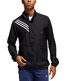 Men's Run It 3-Stripes Anorak Windbreaker