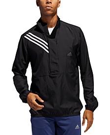 Men's Adidas Run It Anorak 3 Stripe Men