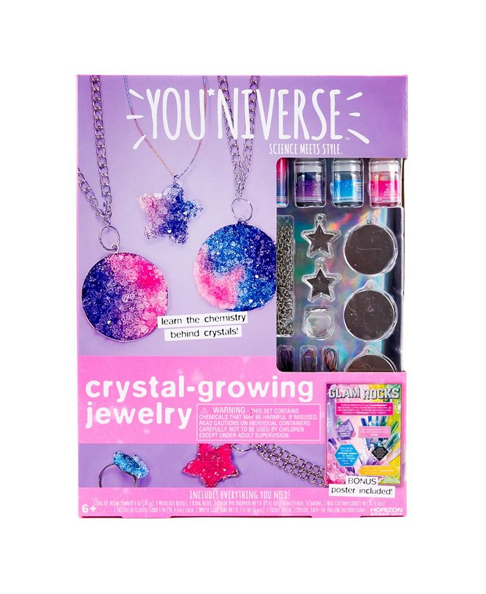 YOUniverse - Crystal Growing Jewelry
