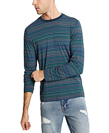 Men's Saturday Stripe Long-Sleeve Shirt