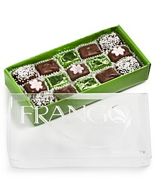 15-Pc. Flower Decorated Milk Mint Chocolate Box of Chocolates