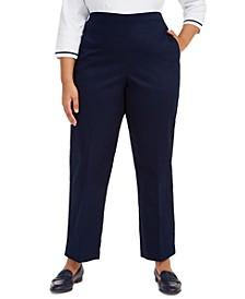 Plus Size Easy Street Pull-On Pants