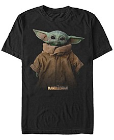 Men's The Mandalorian The Child Jacket Portrait Short Sleeve T-Shirt