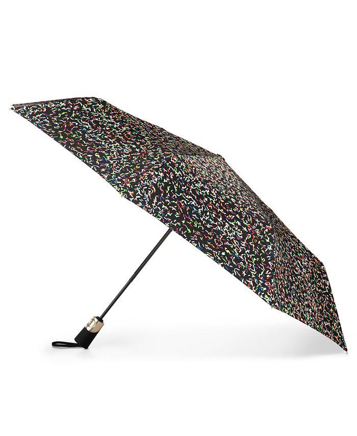 Totes - totes 50th Anniversary 3-Section Auto Open Close Umbrella