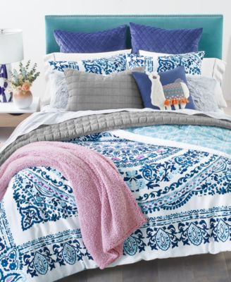 Valencia Mandala 2-Pc. Twin/Twin XL Comforter Set, Created for Macy's