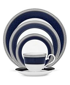 Odessa Cobalt Platinum Dinnerware Collection