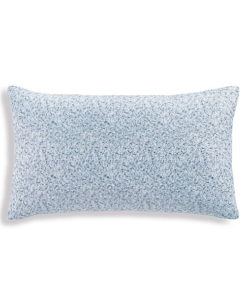 """Hotel Collection Petal 14""""x24"""" Decorative Pillow, Created for Macy's"""