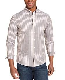 Men's Slim-Fit Stripe Shirt