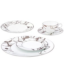 Raptures Platinum Dinnerware Collection