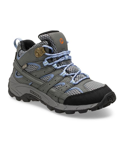 Merrell Kids Little and Big Girl Moab 2 Mid Waterproof Hiker