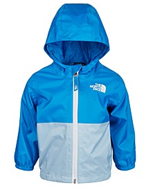 Baby Boys Zipline Waterproof Rain Jacket