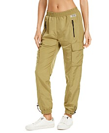 Mesh-Trimmed Cargo Pants