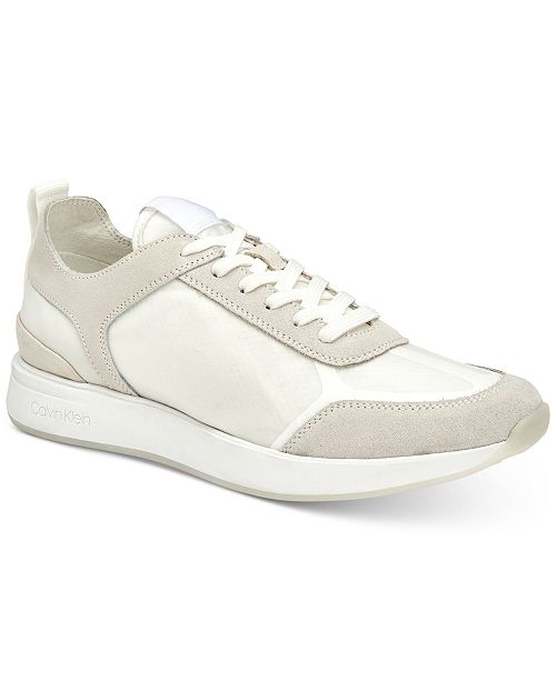 Calvin Klein Men's Delbert Translucent Sneakers