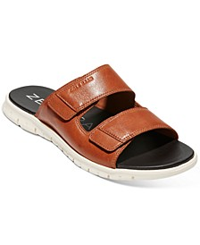 Men's ZERØGRAND Multistrap Slide Sandals