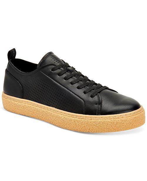 Calvin Klein Men's Everett Small Grain Sneakers