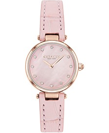Women's Park Blush Leather Strap Watch 26mm
