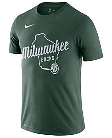 Men's Milwaukee Bucks City Edition Fanwear T-Shirt