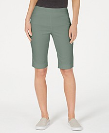 Petite Pull-On Bermuda Shorts, Created for Macy's