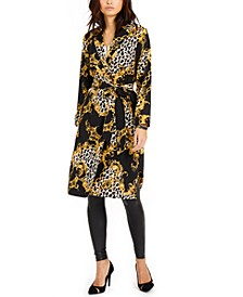 Floral-Print Duster Jacket, Created for Macy's