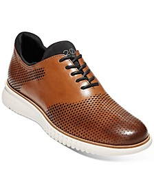 Men's 2.ZERØGRAND Laser Saddle Oxfords